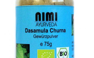 Dasamula Kräuterpulver für gute Nerven, Darm und Immunsystem