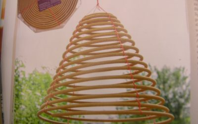 Räucherspiralle – Natürlicher Schutz vor Gelsen